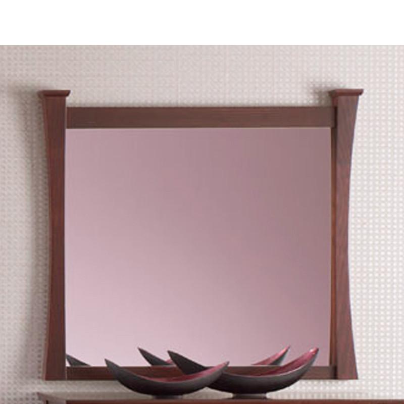 Espejo con madera para dormitorio cl sico for Espejo pared precio