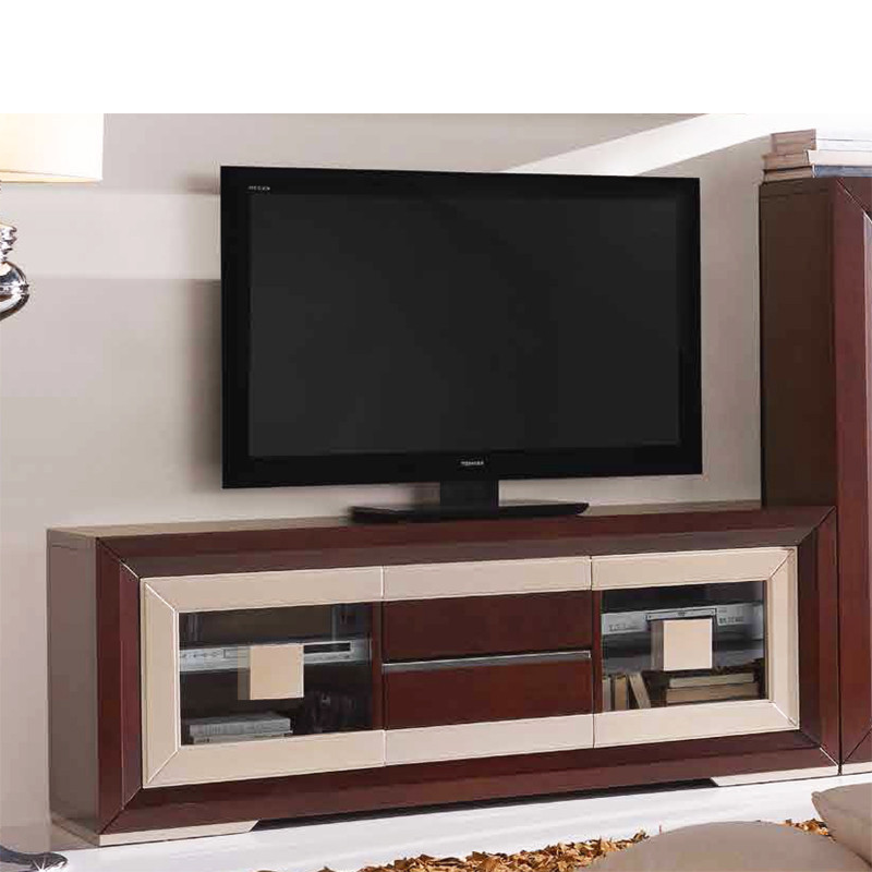 Mesa de television ikea use an inexpensive printed canvas - Mueble televisor ikea ...