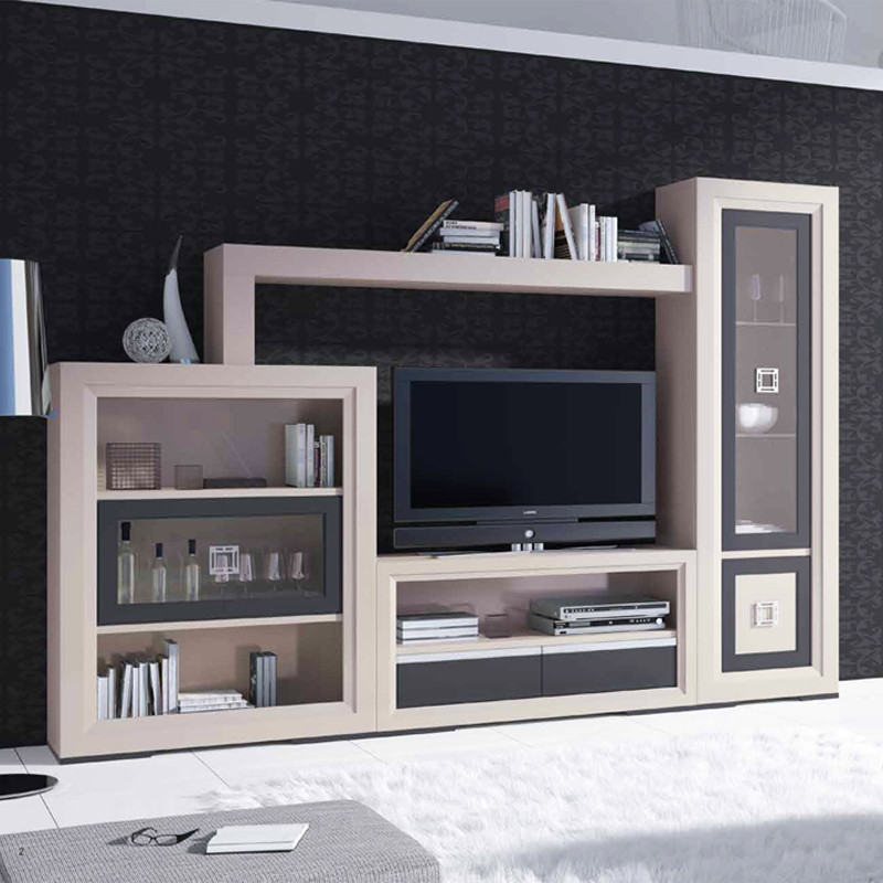 Puertas salons and tvs on pinterest for Paris muebles comedor