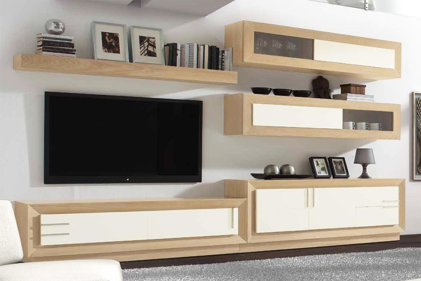 Muebles modulares para salones comedores de dise o en for Conjunto muebles salon