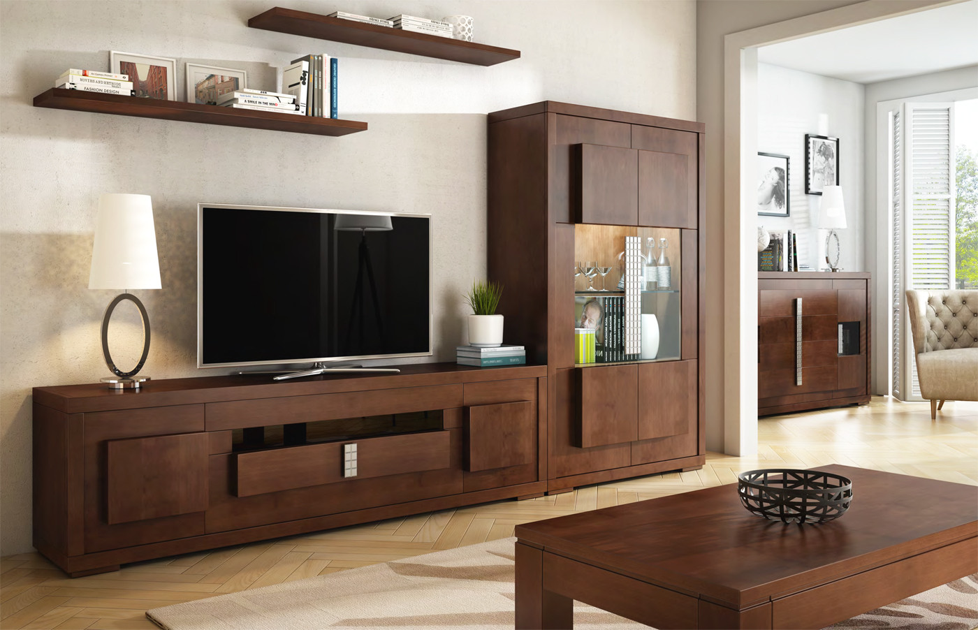 Mueble para televisi n de plasma de gran tama o for Muebles y decoracion online outlet