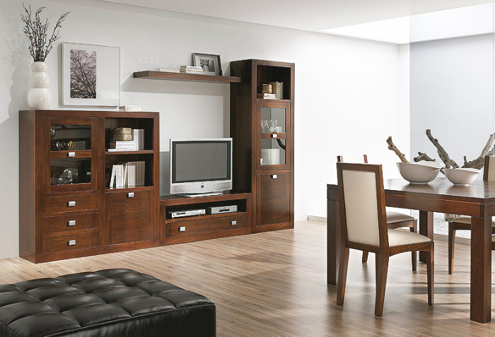 Muebles salon blanco y madera 20170803061650 for Muebles de salon blanco y madera
