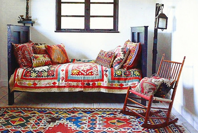 Bohemian chic las claves del estilo m s ex tico y for Muebles hippies