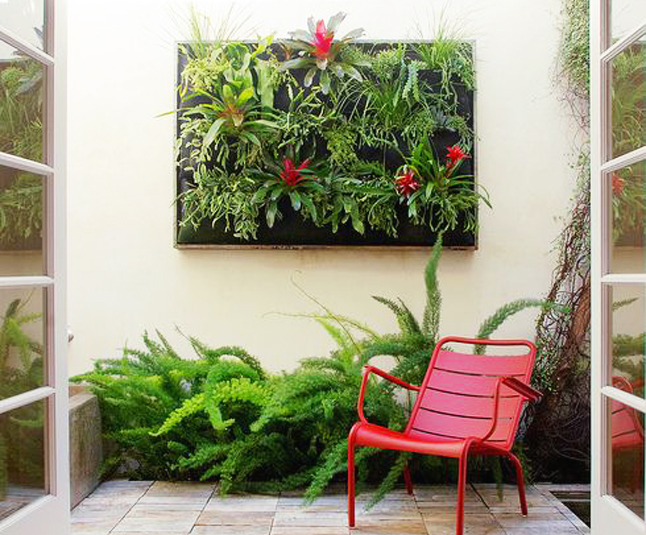 Decora tus paredes con jardines verticales blog de for Ideas para decorar paredes de jardin